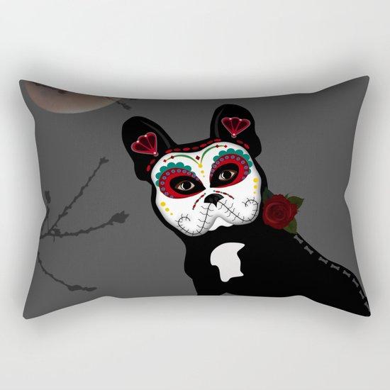 Frenchie Sugar Rectangular Pillow