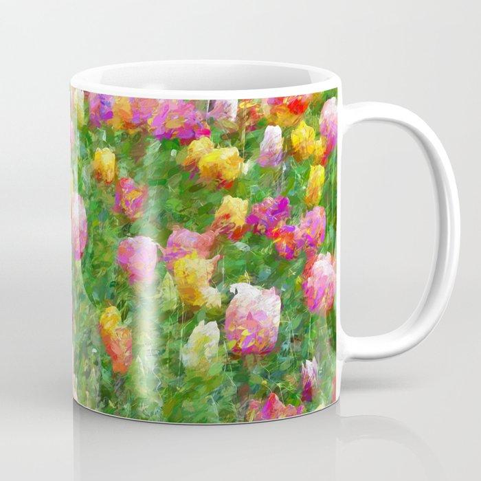 A Vision of Tulips Coffee Mug