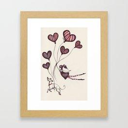 Spreading Love pt.2 Framed Art Print