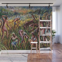 The Field Harvest Wall Mural