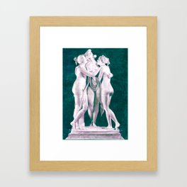 3 graces Framed Art Print