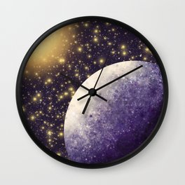 Mercury And The Sun Wall Clock