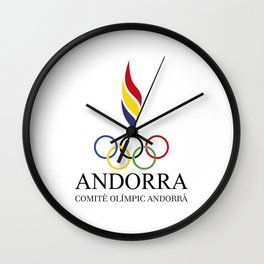 COA - Andorra Wall Clock