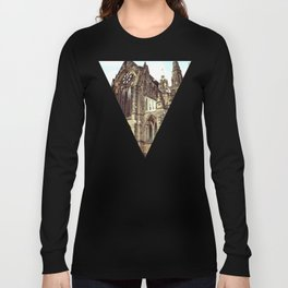glasgow cathedral medieval cathedral Long Sleeve T-shirt