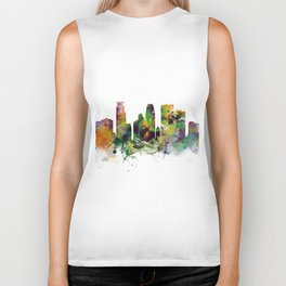 Minneapolis Minnesota Skyline Biker Tank