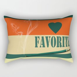 A gift for a man . Favorite . Rectangular Pillow