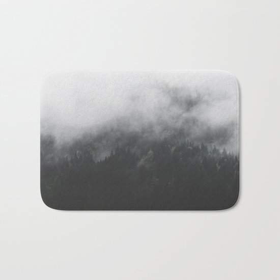 Spectral Forest II - Landscape Photography Bath Mat