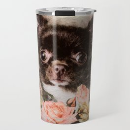 Chihuahua puppy sketch Travel Mug