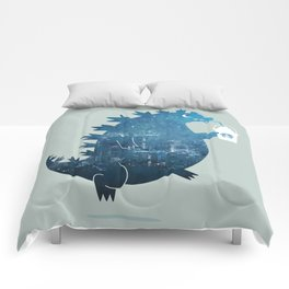Godzillatte Comforters