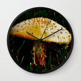 Shroomin' Wall Clock