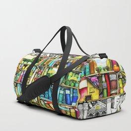 Bookshelf Fantasy Duffle Bag