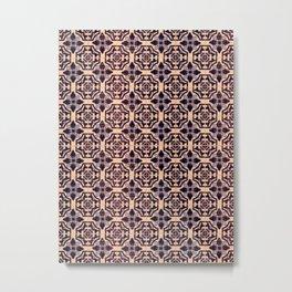 Azulejos Metal Print