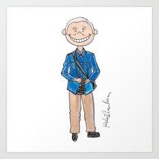 Little Bill Cunningham Art Print