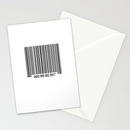 Barcode #1 Stationery Cards