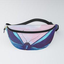 Blueberry Breeze Splash Fanny Pack