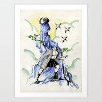 Air Headed Art Print