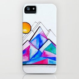 Rockies in the Abstract iPhone Case