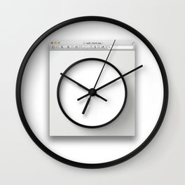 window_(computing) Wall Clock