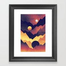 Nightfall Framed Art Print