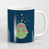 hippie Mugs featuring Hippie Pear by haidishabrina