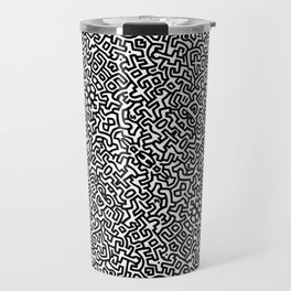 wall art K.Haring Travel Mug