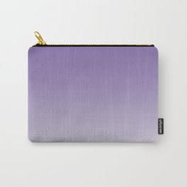 Lavender to White Carry-All Pouch