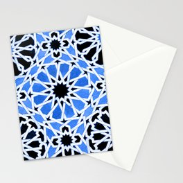 Moroccan Zellige pattern Stationery Cards