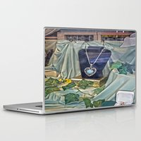 shopping Laptop & iPad Skins featuring Window Shopping by Frankie Cat