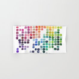 Favorite Colors Hand & Bath Towel