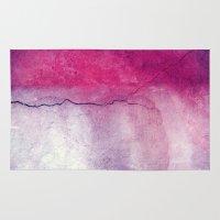 broken Area & Throw Rugs featuring broken by Claudia Drossert