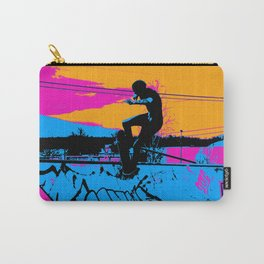 On Edge - Skateboarder Carry-All Pouch
