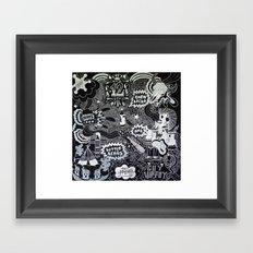 Cornbread And Butternut Framed Art Print
