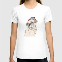 pug T-shirts featuring Pug by Madmi