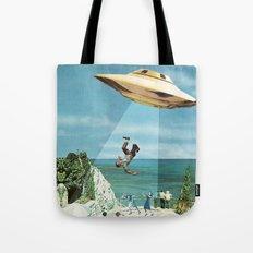 UFO Abduction Tote Bag