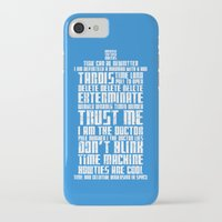 tardis iPhone & iPod Cases featuring Tardis by Tombst0ne