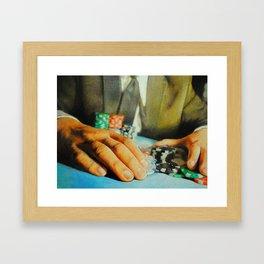 All In (Debt) Framed Art Print