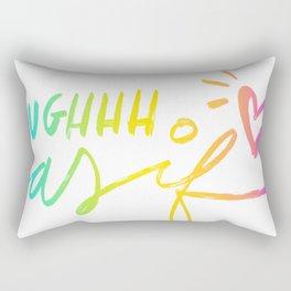 UGH, As If Rectangular Pillow