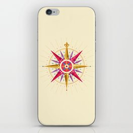Compass Rose iPhone Skin