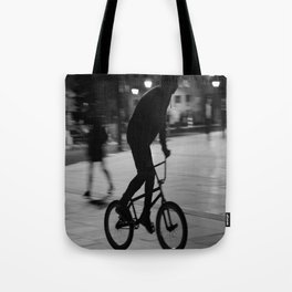 Ride the night Tote Bag