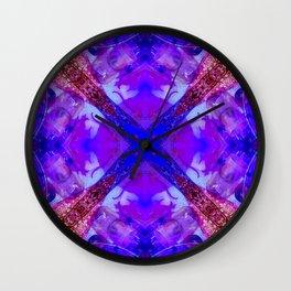 Crystal Bowls and Digeridoo Wall Clock