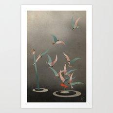 The Red Fish Art Print