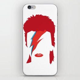 Bowie faceless iPhone Skin