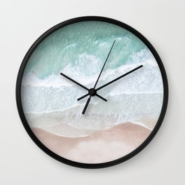 Birds View Sea Wall Clock