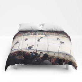 Utah Grizzlies game Comforters