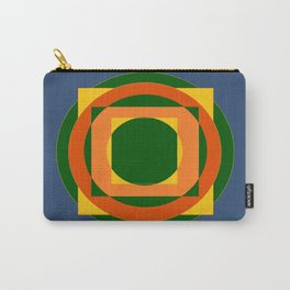 Square Peg in A Round Hole Carry-All Pouch