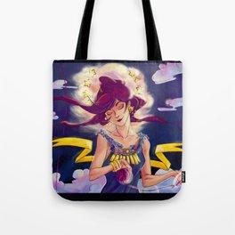 Moirai, Clotho Tote Bag
