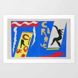 Henri Matisse - The Circus (Jazz) Henri Matisse 1947 - Original Artwork Reproduction Art Print