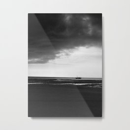 The Storm is fading away Metal Print