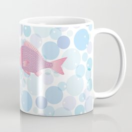 Snapper and bubble Coffee Mug