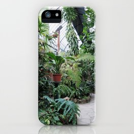 Greenhouse on Isola Bella iPhone Case